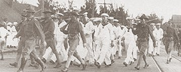 S.M.S. Geier_-Interning_Sailors-Hawaii-1914