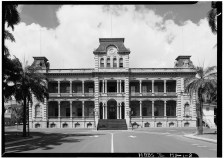 SOUTHWEST_FACADE,_AXIAL_VIEW_-_Iolani_Palace-LOC