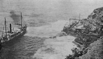 SS Helene loading sugar at Koholalele Landing-Nelson