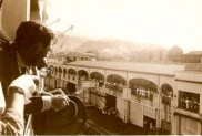 SS LURLINE arrrival scene – Honolulu – 1941 – Months before Pearl Harbor