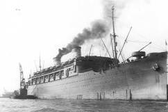 SS Lurline Departing Honolulu with 442nd RCT, 1943