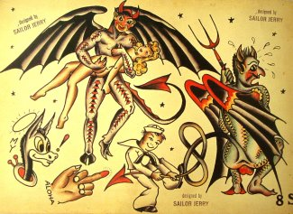 Sailor Jerry-art
