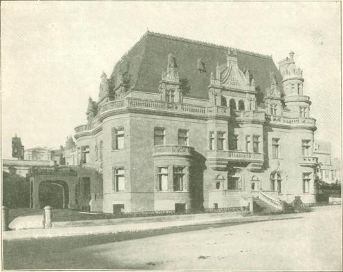 San Francisco Residence of Claus Spreckels.
