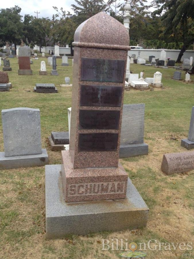 Schuman Grave-Oahu Cemetery
