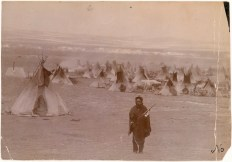 Sioux camp scene, ca. 1880 (National Museum of the American Indian, Smithsonian Institution - P22843)