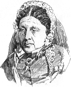 Sketch of Mary Seacole by Crimean war artist William Simpson (1823–1899), c. 1855
