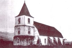 St. Michael's Church, Waialua, built in 1853-SB