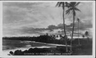 Sunrise at Kaimu Black Sand beach, Kalapana-PP-29-10-002