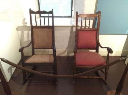 Sybil Bingham (L) Kaahumanu (R) Rocking_Chairs