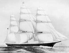 The clipper Flying Cloud