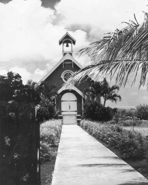 The old St George Church, ca. 1933 (StGeorgeChurchWaimanalo)