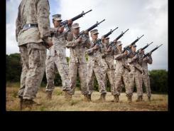Third Marine Regiment Honors Fallen Heroes