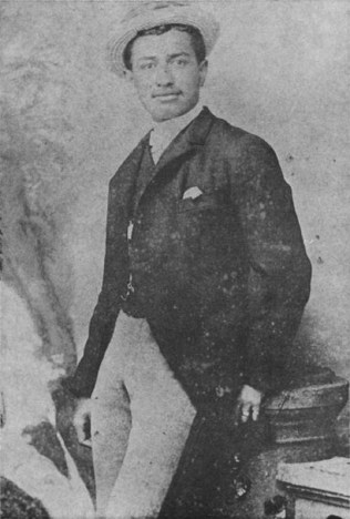 Thomas Pualii Cummins in San Francisco, c. 1885-WC