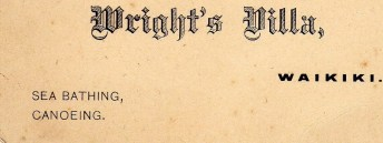 Thomas Wright's business card 1899 (Jeanne Wright Riley)