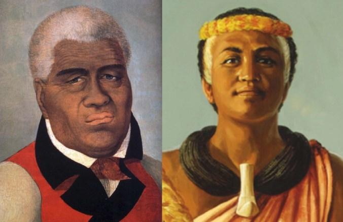 Together Forever-Kamehameha-Kaahumanu