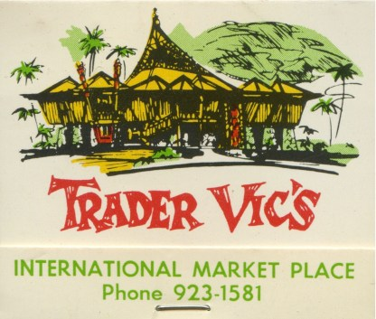 Trader_Vic's_Matchbook_cover