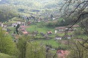 Tuzla Countryside - note brown and red roofs