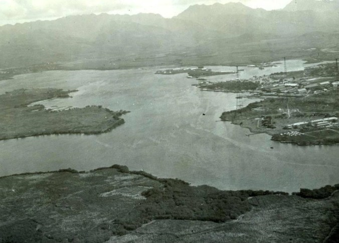 U.S.. Naval Station, Pearl Harbor, Hawaii, looking North East by East,(NHHC) circa 1918