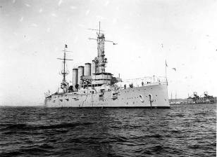USS California - Pearl Harbor-Dec 14, 1911