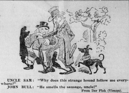 Uncle Sam Hawaii Annexation Cartoon