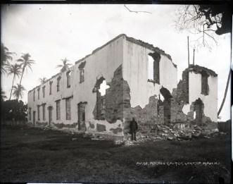 Wainee_Church-1893-after-fire
