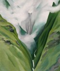 Waterfall — No. III — Iao Valley, 1939, by Georgia O'Keeffe