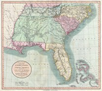 West Florida (including Pensacola, which was not part of the US claim) in the hands of Spain-1806-