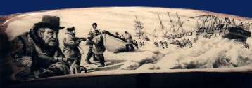 Whaling Disaster of 1871-scrimshaw