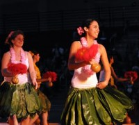 Whitworth University Hawaiian Club Luau
