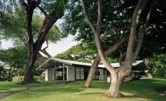 William H. Hill House, Keauhou, Kona, Hawaii, 1954-Ossipoff