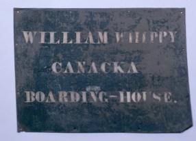 William Whippy Canacka Boarding-House-sign-NantucketHA