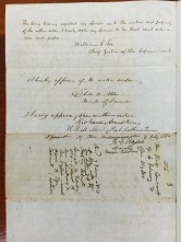 Wm Lee_and_Ministers-Approval of Order of King Kamehameha III to Wyllie-English-Feb_6,_1854