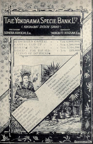 Yokohama Specie Bank-poster