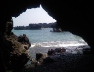 Sea caves at Waianapanapa State Park