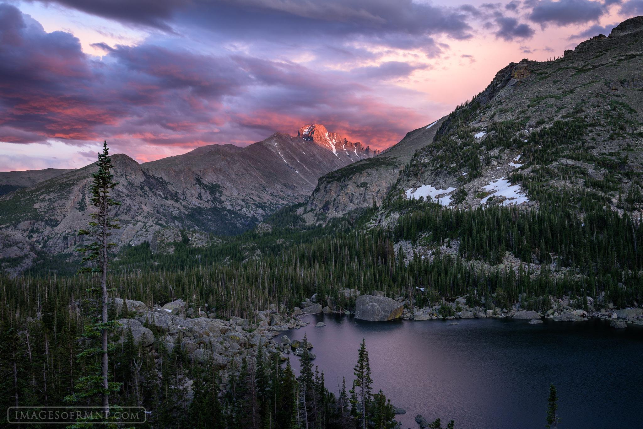 Rocky Mountain High Lake Haiyaha Rocky Mountain
