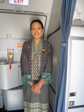 Druk Air stewardess
