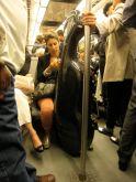 hidden wood, cello on the metro, Paris
