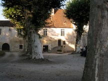 late afternoon at chancelade abbey perigueux