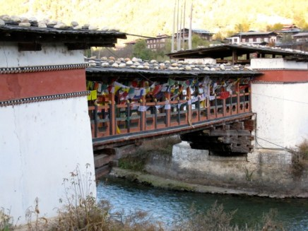 Thimphu Bridge, Bhutan