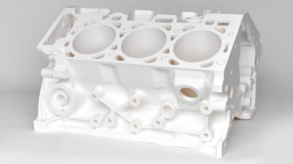 3d printer engine block
