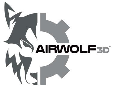 airwolf 3d printer logo