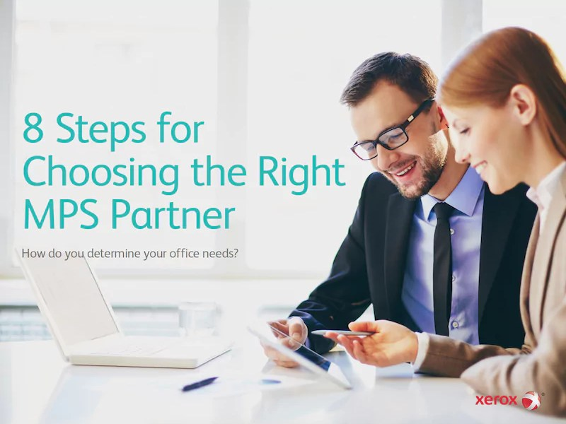 8 Steps for Choosing the Right MPS Company