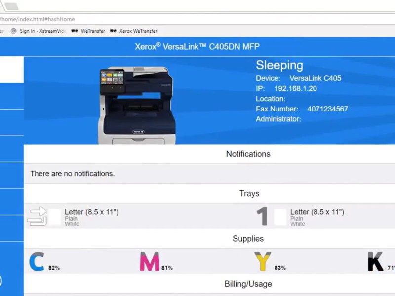 Setting Up AirPrint On Xerox Printers