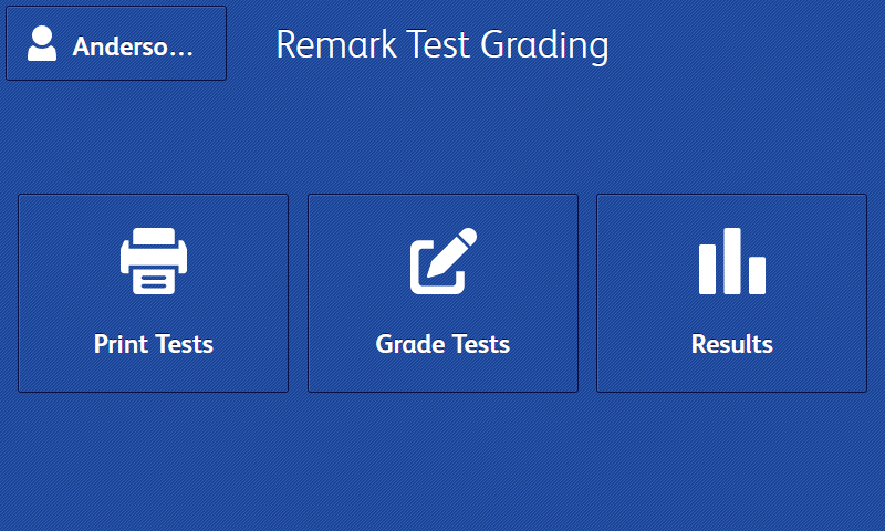Print and Grade Tests Automatically With The Xerox ConnectKey Remark Test Grading App