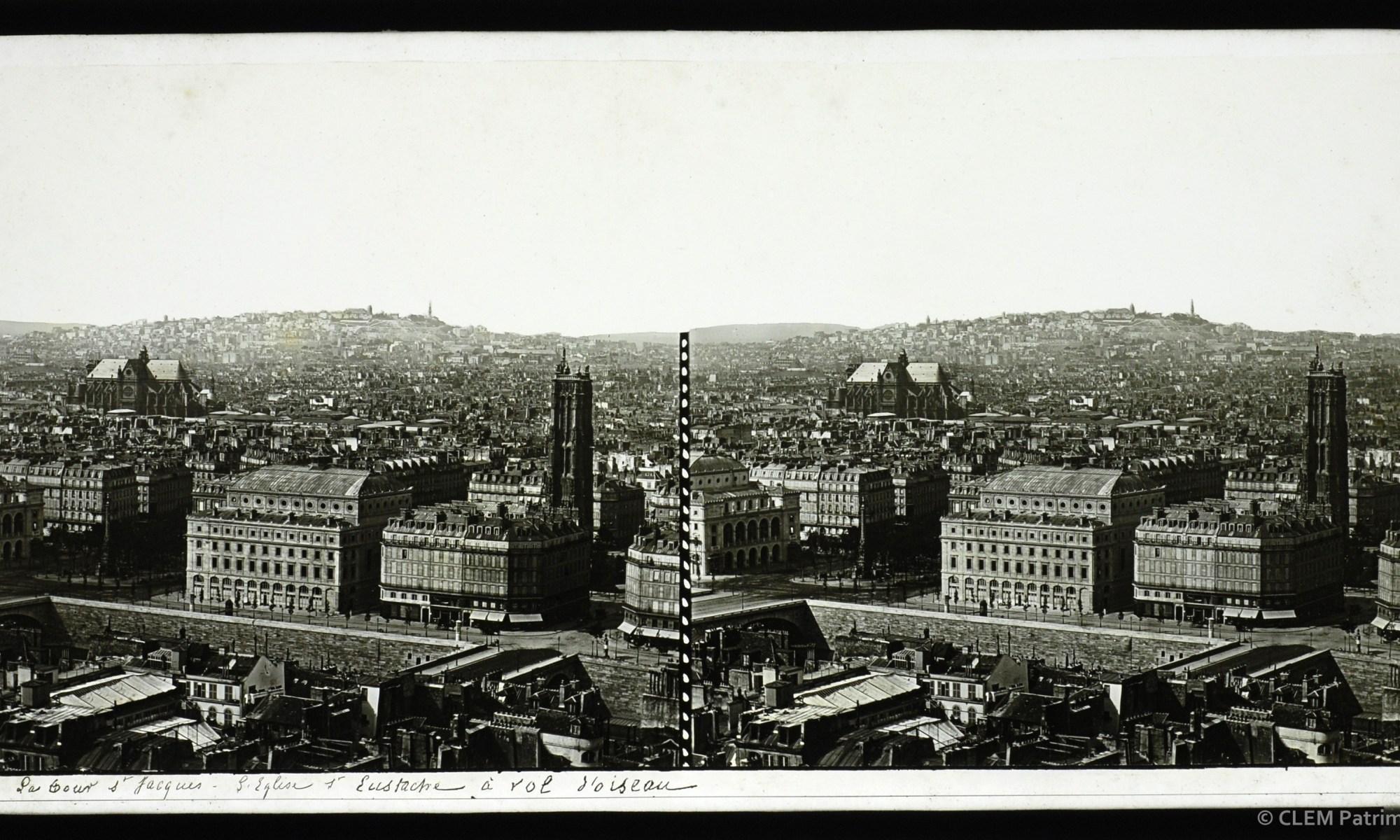 Images stéréoscopiques Clouzard Soulier Paris