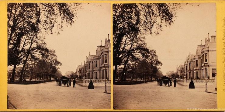 Images stéréoscopiques Bedford Francis Leamington Spa 1864