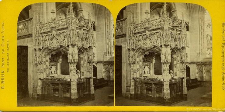 Images stéréoscopiques Brun Georges Bourg en Bresse