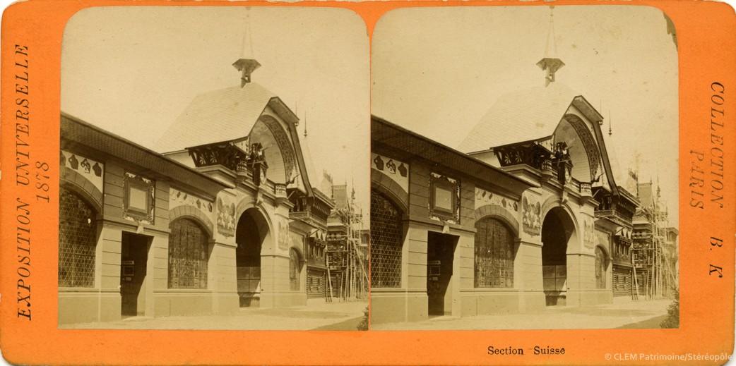 images stéréoscopiques Adolphe Block Exposition Universelle 1878