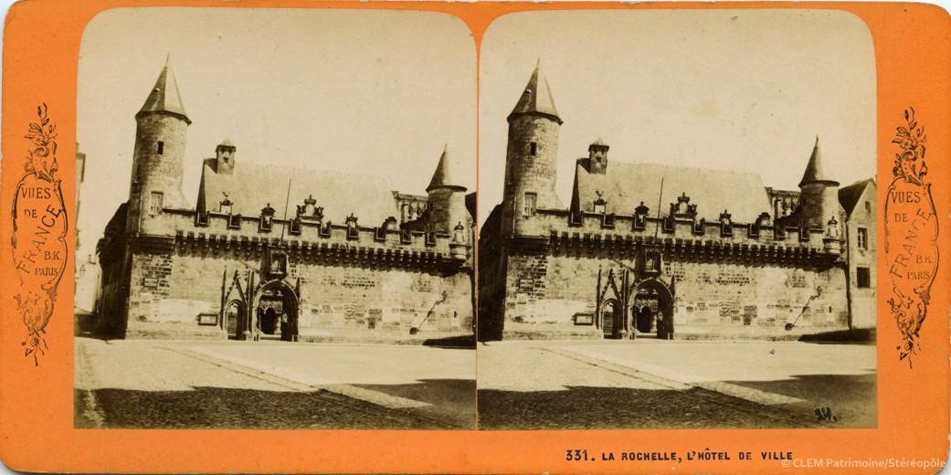 Images stéréoscopiques La Rochelle Jean Andrieu Adolphe Block Vues de France