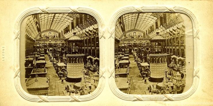 images stéréoscopiques Lefort Exposition universelle 1855